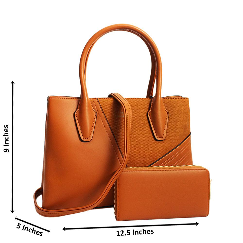 Brown-Camilla-Mix-Leather-Medium-Tote-Handbag