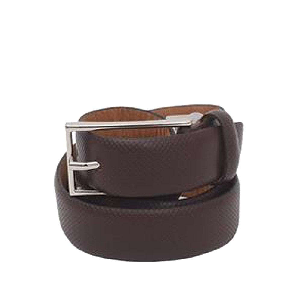 Brown Men Leather Belt L44 Inches