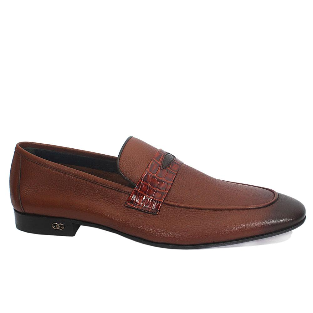 Gen Brown Soft Leather Penny Loafers
