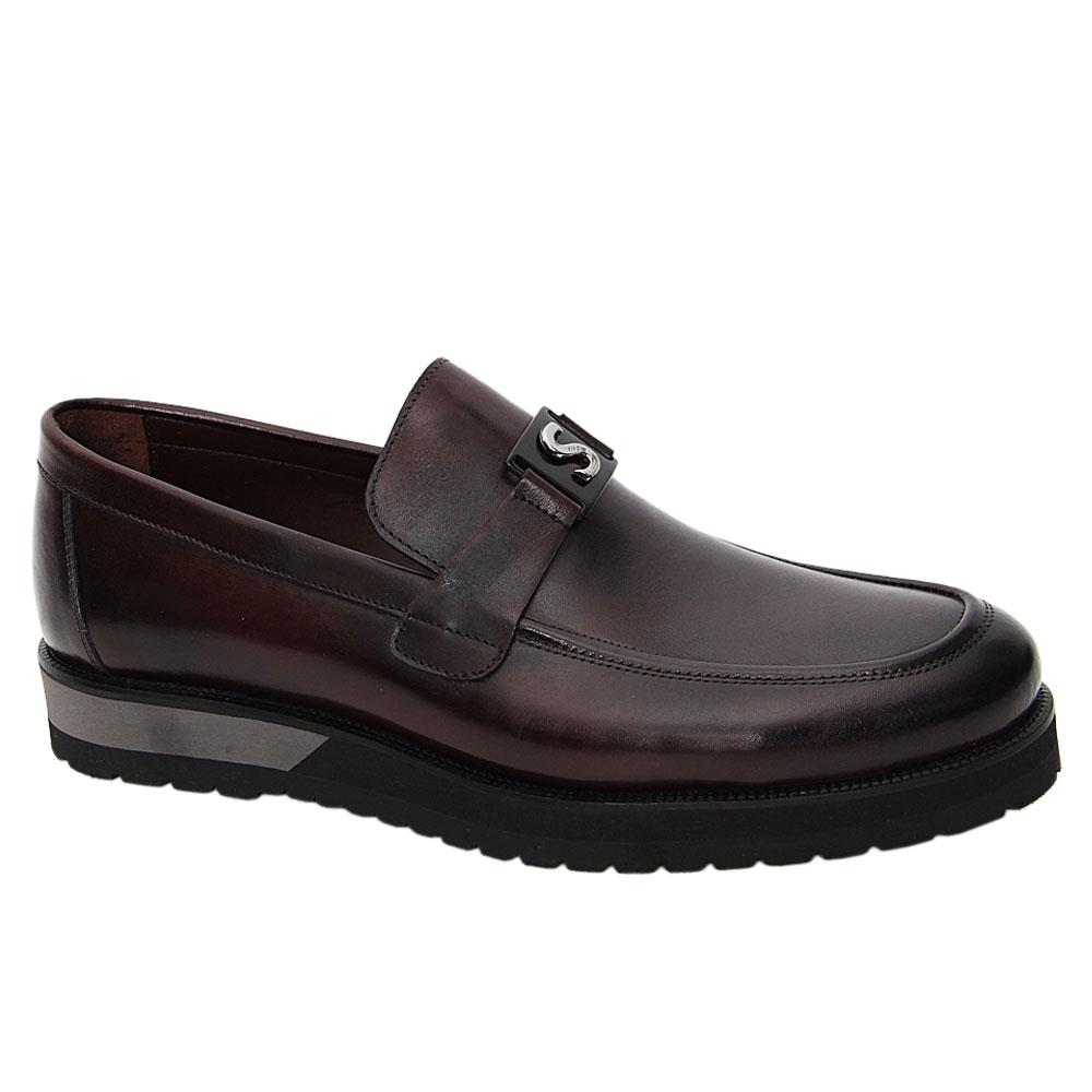 Coffee-Vidal-Italian-Leather-Pillow-Sole-Loafers