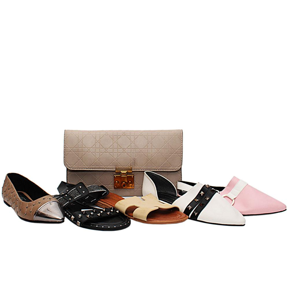 Size 38 Valentina Shoe and Bag Bundle