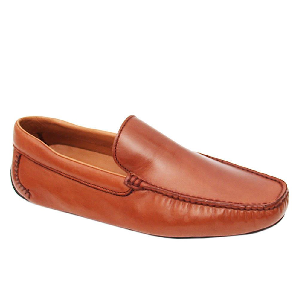 Brown Neron Italian Leather Drivers Shoes
