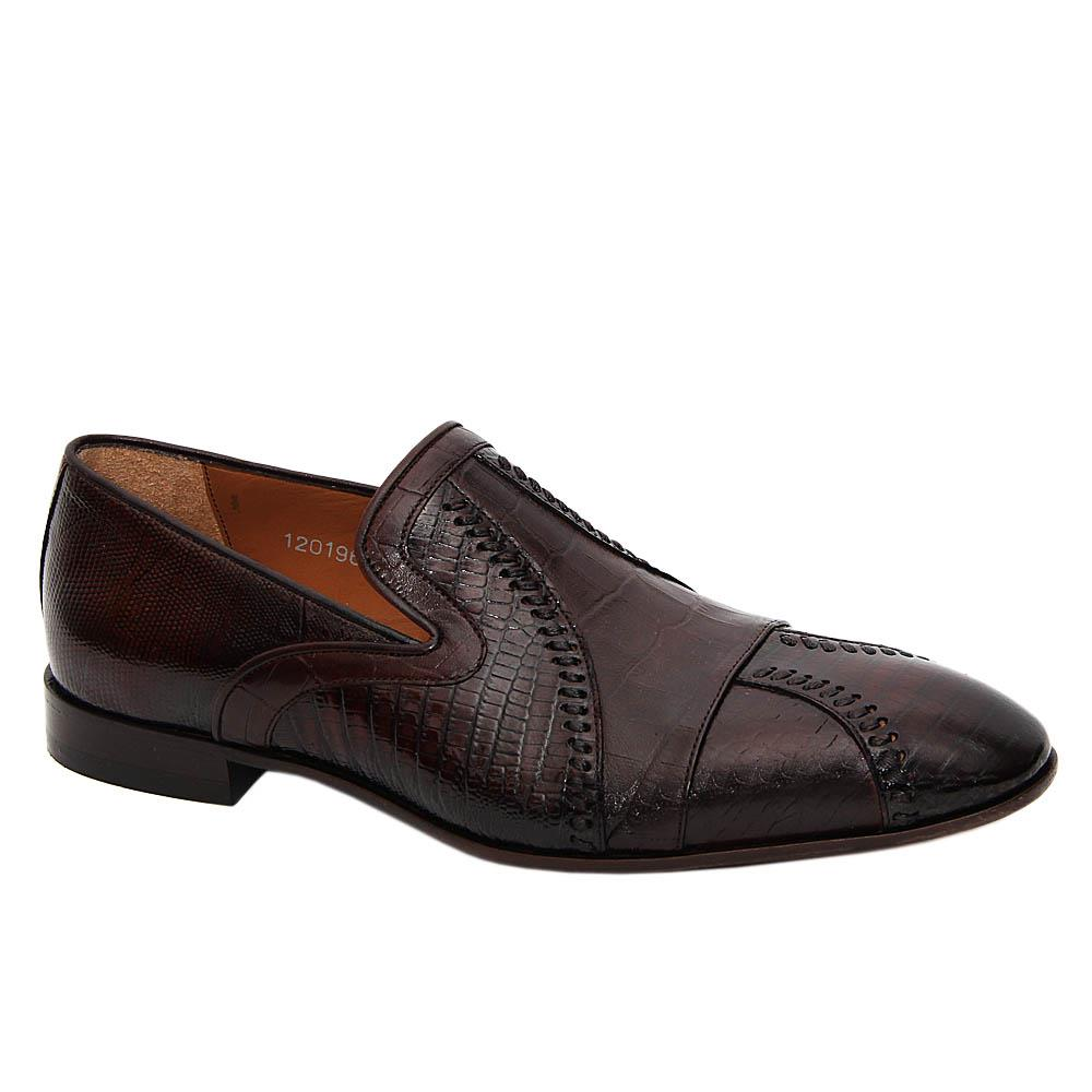 Coffee Carlo Flavio Italian Leather Loafers