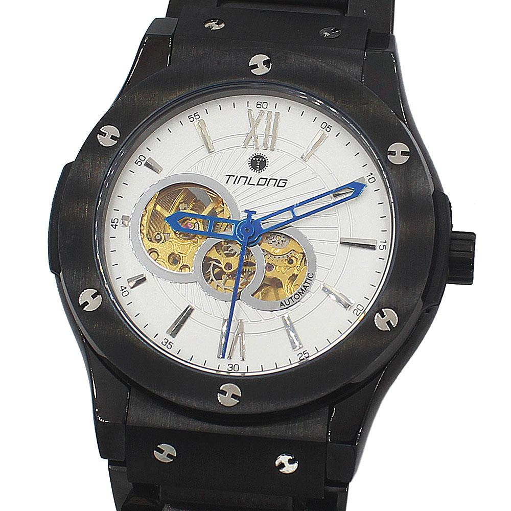 Big Bang Black Stainless Steel Automatic Watch