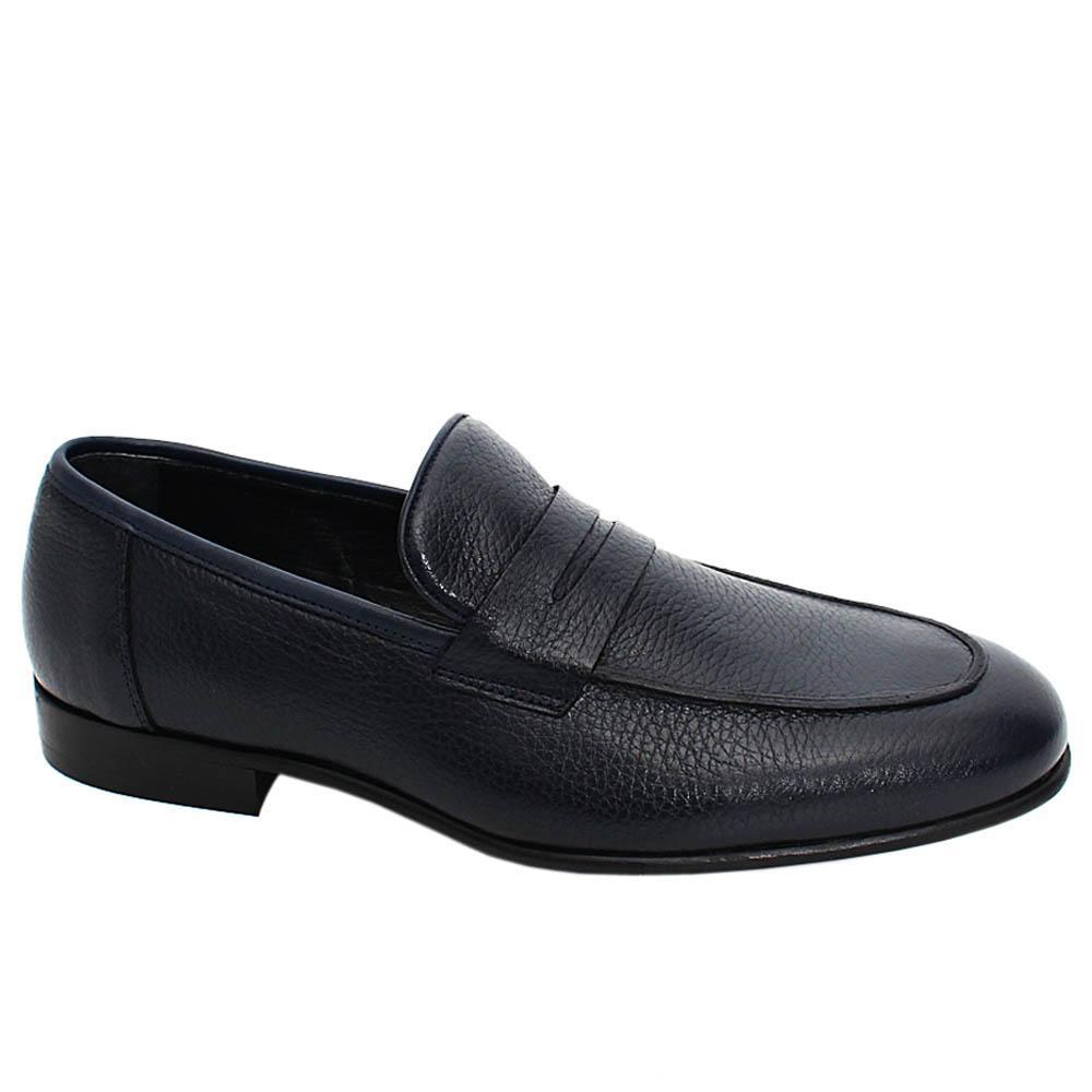 Dark-Navy-Logan-Leather-Men-Penny-Loafers