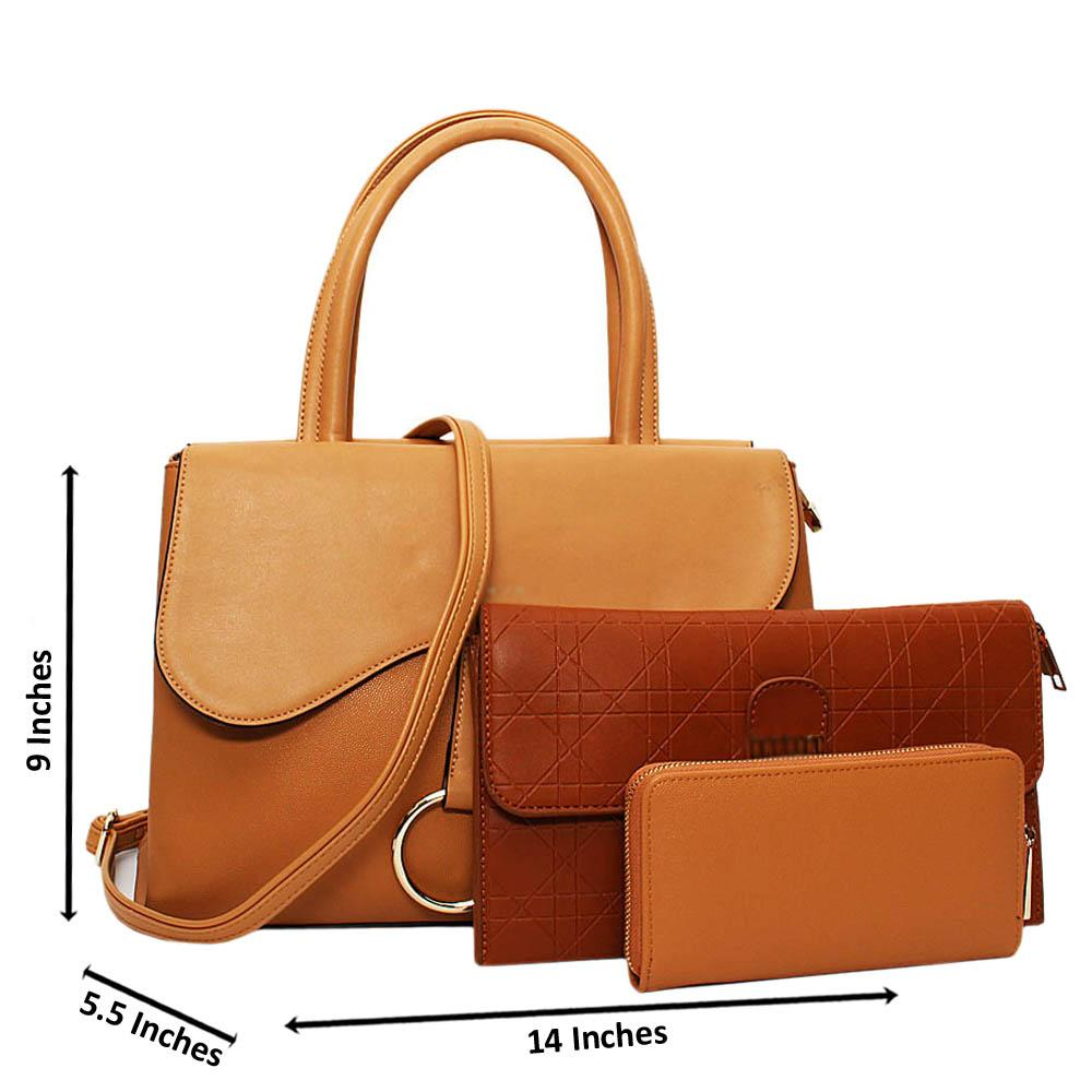 Light-Brown-Jane-Leather-Small-3-in-1-Tote-Handbag