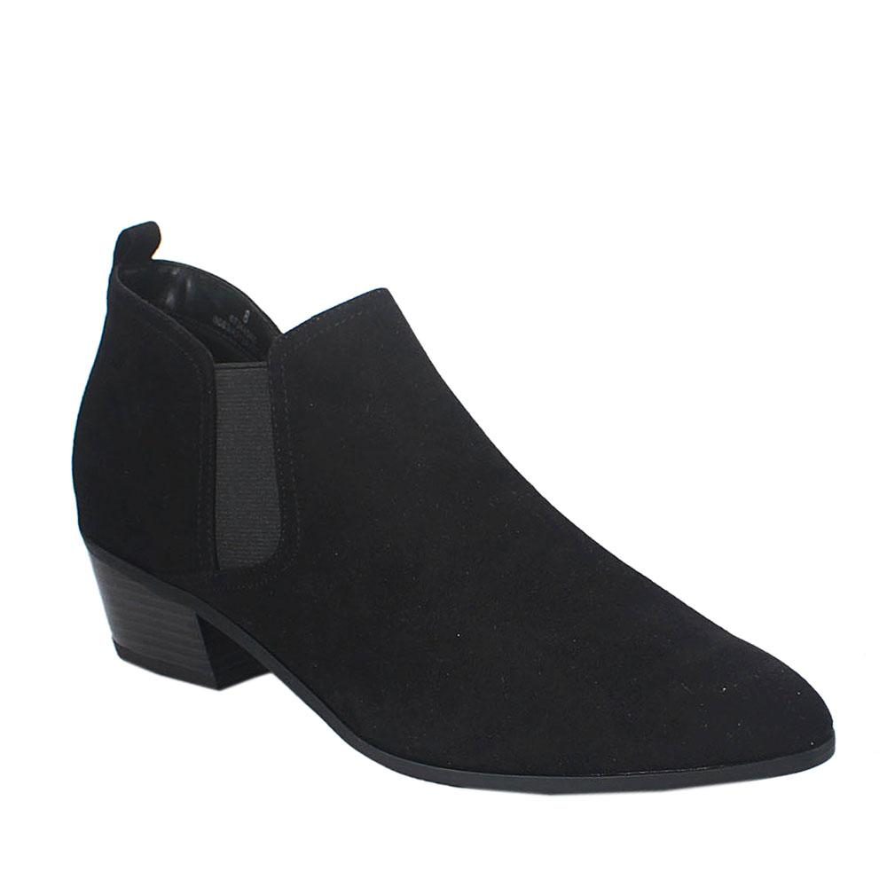 Black Suede Ladies Boot