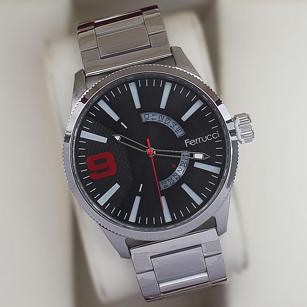 Ferrucci Xraka Stainless Steel Fashion Watch
