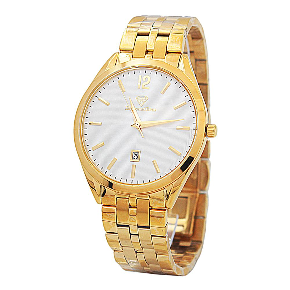 DR 3ATM Gold Stainless Steel Classic Watch