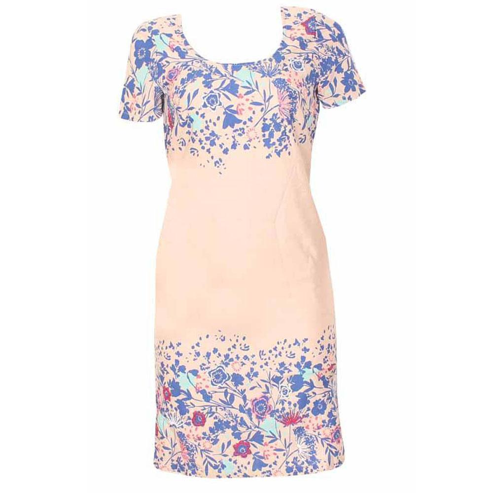 M & S Peruna Multicolor Cotton Ladies Dress-Uk 14