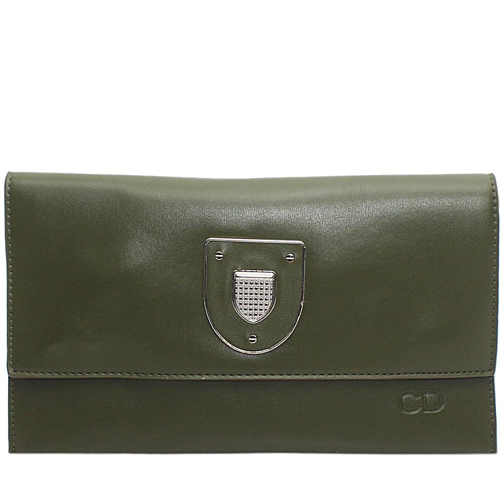 Green Marshal Leather Flat Purse