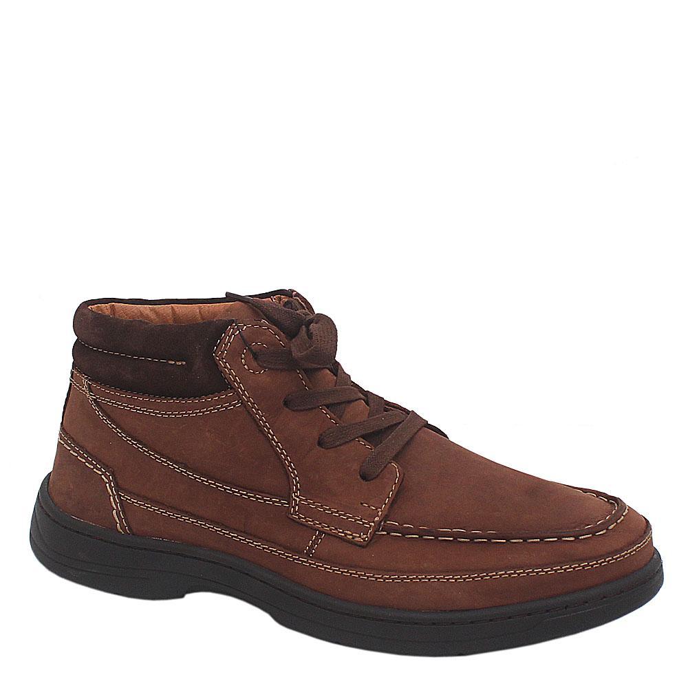 M & S Air flex Coffee Leather Men Ankle Boot Sz 44.5