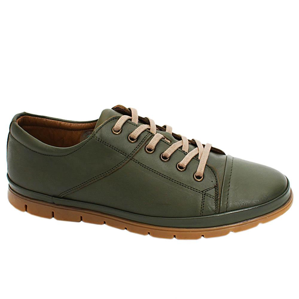 Camo Green Bridger Leather Men Sneakers