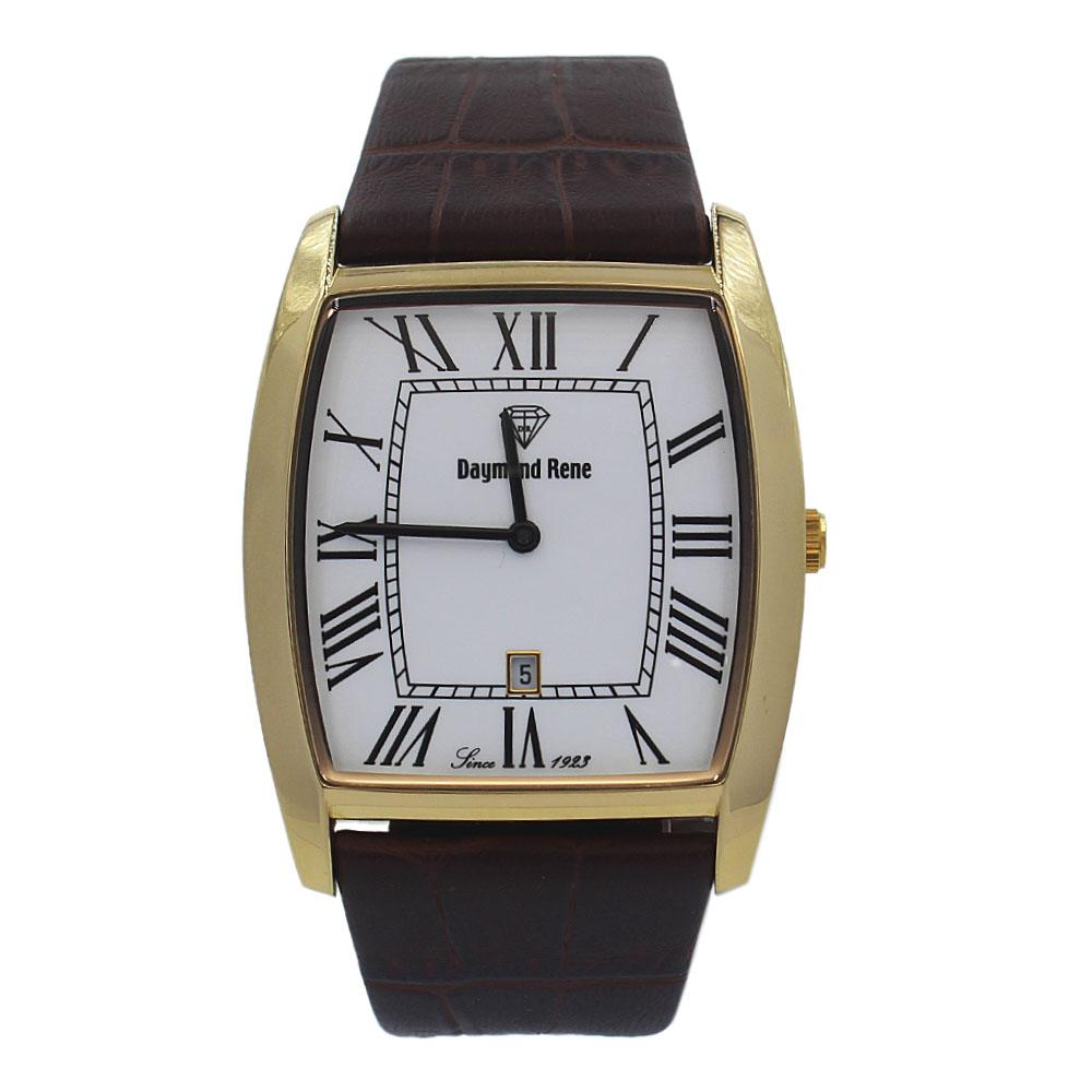 DR-Brown-Leather-Flat-Watch