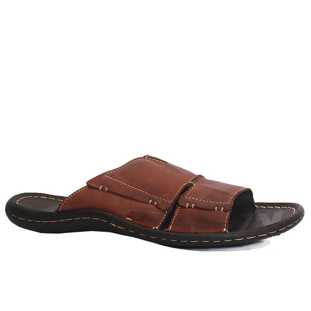 Kenneth-Cole-Reaction-Brown-Premium-Leather-Slippers