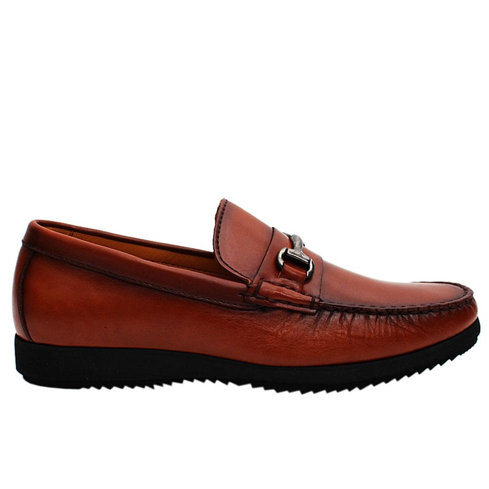 Brown Spiro Italian Leather Men Loafers