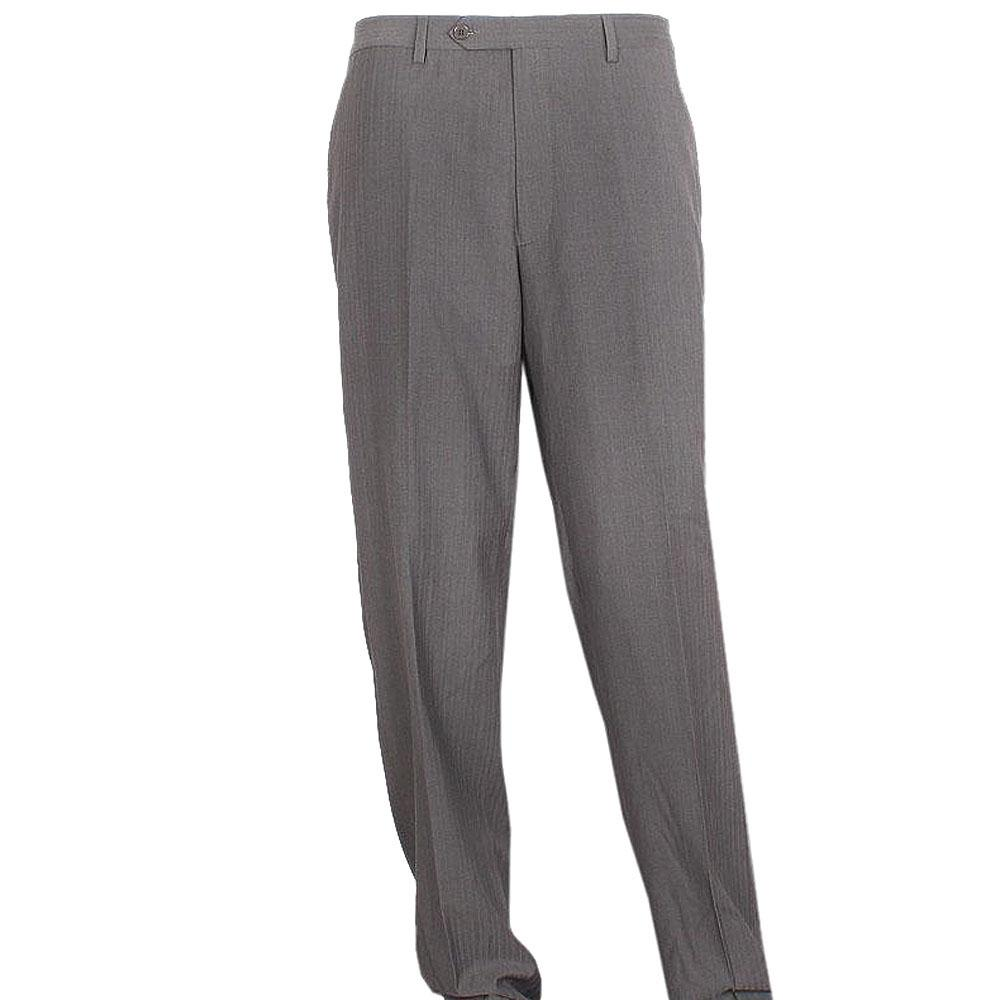 Mark & Spencer Limited Grey Cotton Mens Slim Fit Trouser Sz 28