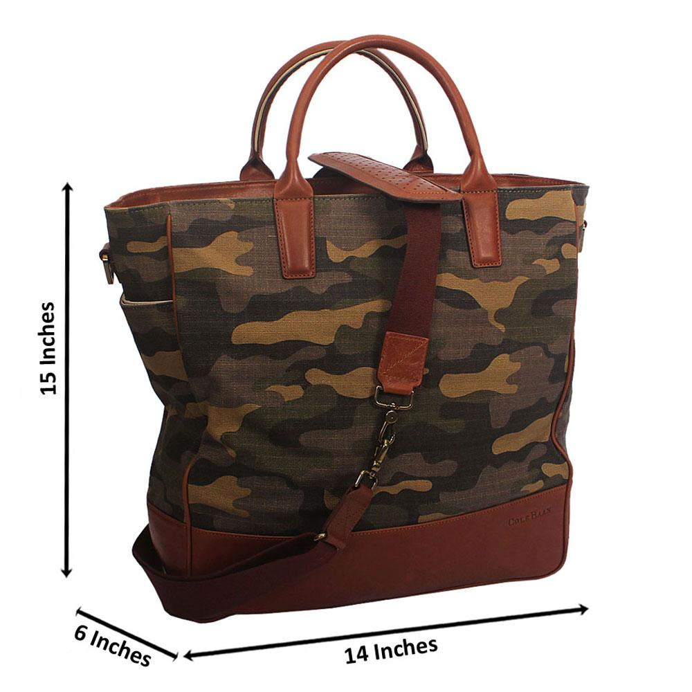 Camoflag Fabric Duffle Bag