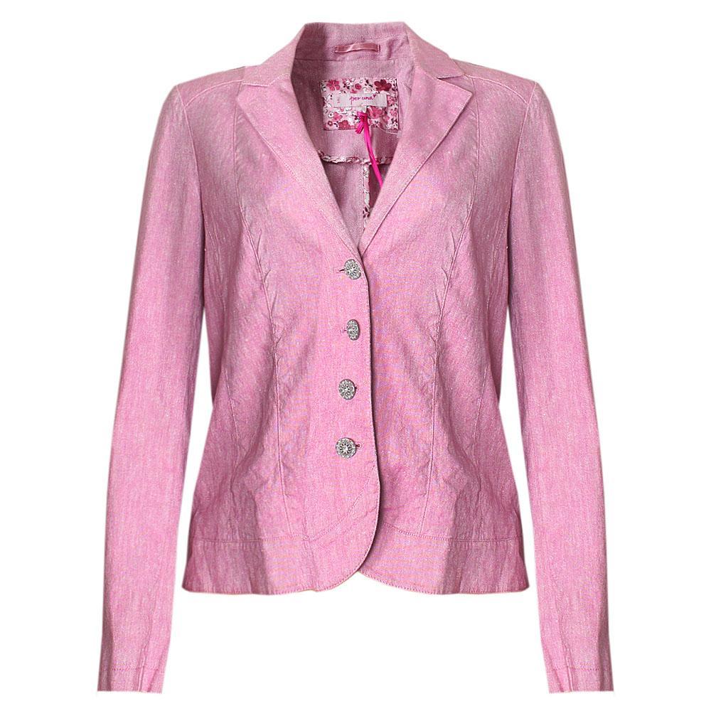 Pink Wool Longsleeve Ladies Jacket 14