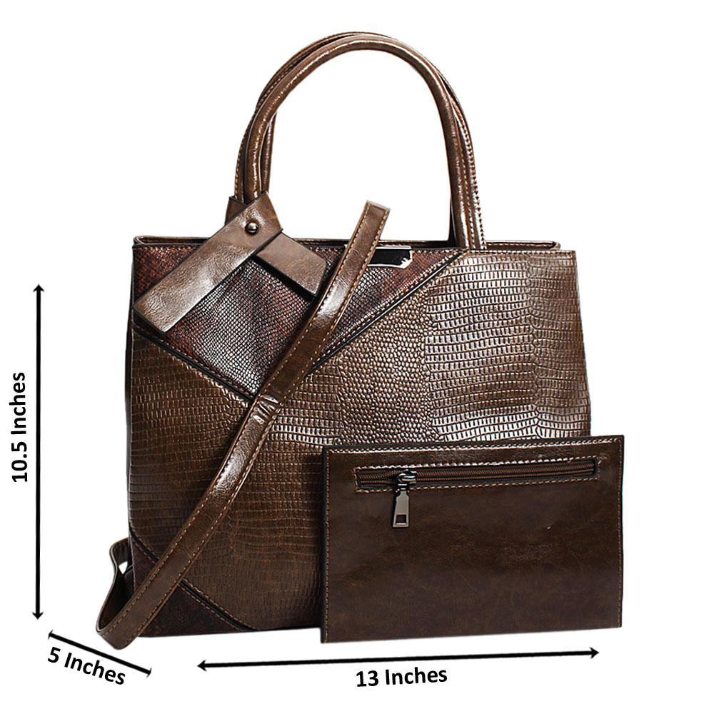 Brown-Jenna-Mix-Snake-Leather-Medium-Tote-Handbag