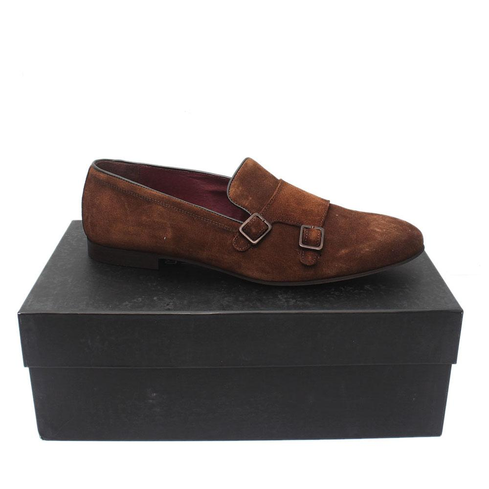 Sz 44 Kurt Geiger Brown Suede Men Shoe