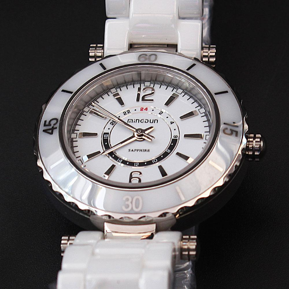 Empire White Divers Ceramic Ladies Watch