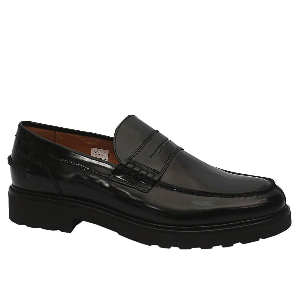 MII Black Stefano Leather Shoe