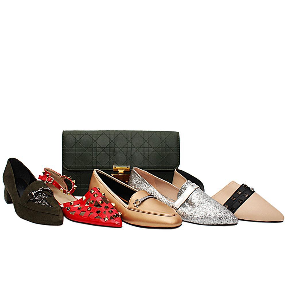 Size 38 Freya Shoe and Bag Bundle