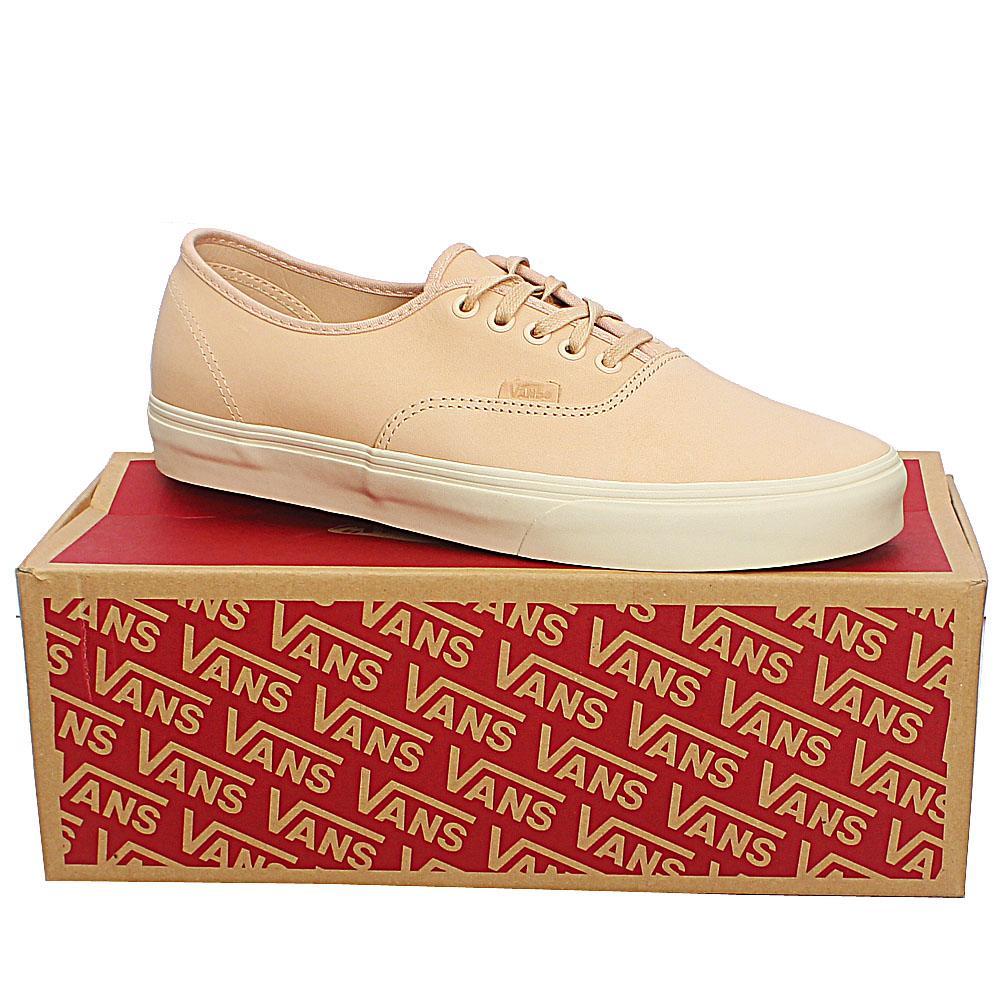 Vans Light Peach Authentic DX Veggie Leather Sneakers Sz 44