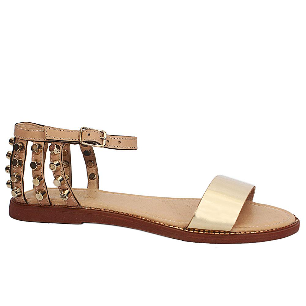 Carlo D Goldneye Gladiators Sandals