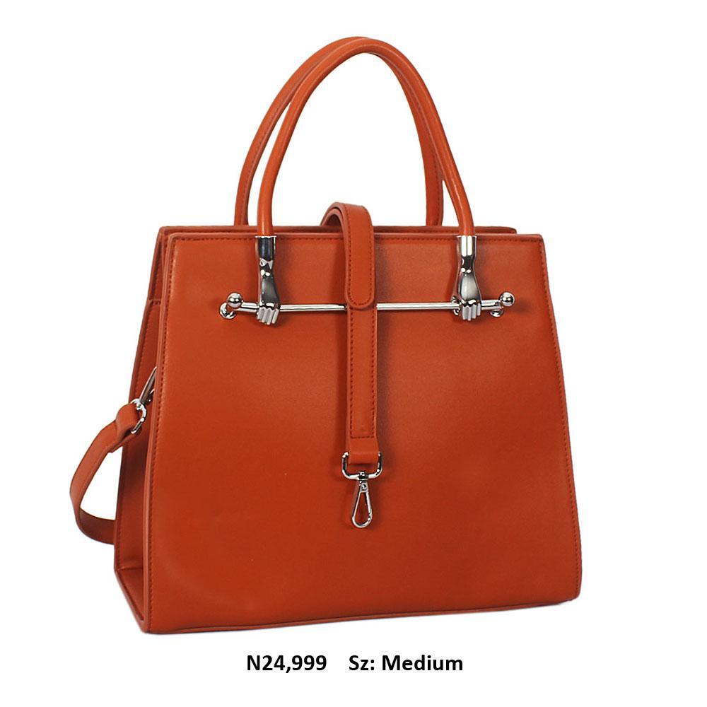Brown Norris Leather Tote Handbag