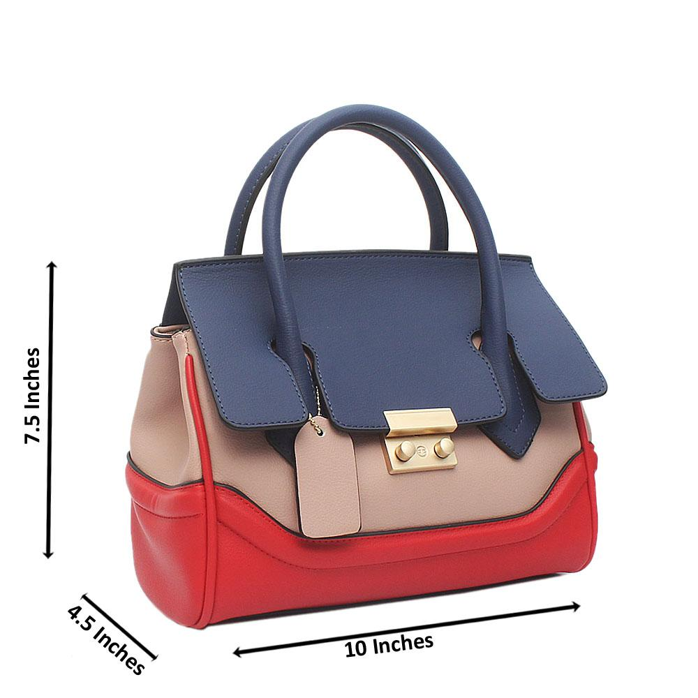 Buy Blue-Mix-Small-Palazzo-Empire-Montana-Leather-Bag - The Bag Shop ... 26744b28d30c5