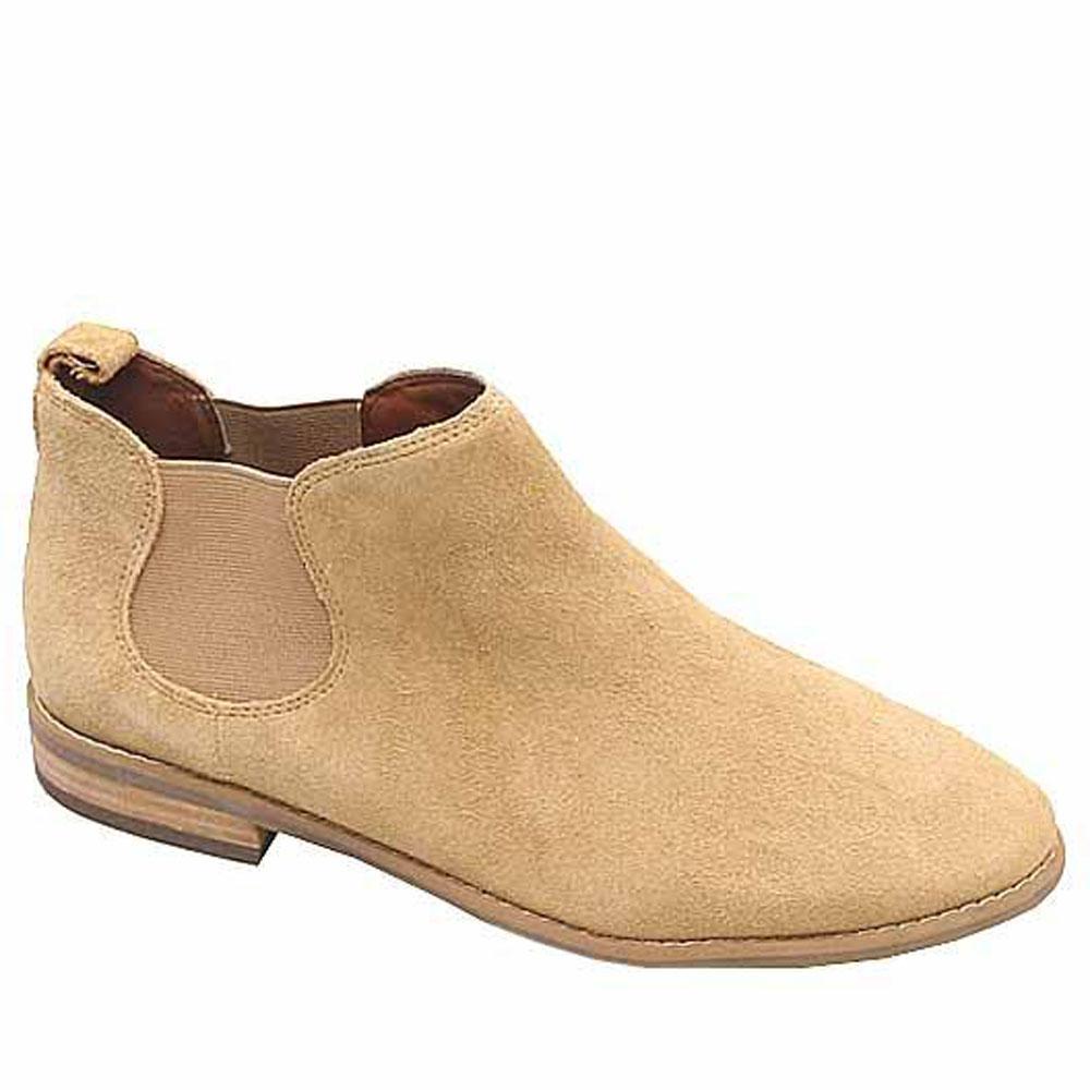 Marks & Spencer Indigo Brown Suede Leather Ladies Shoe Sz 37.5