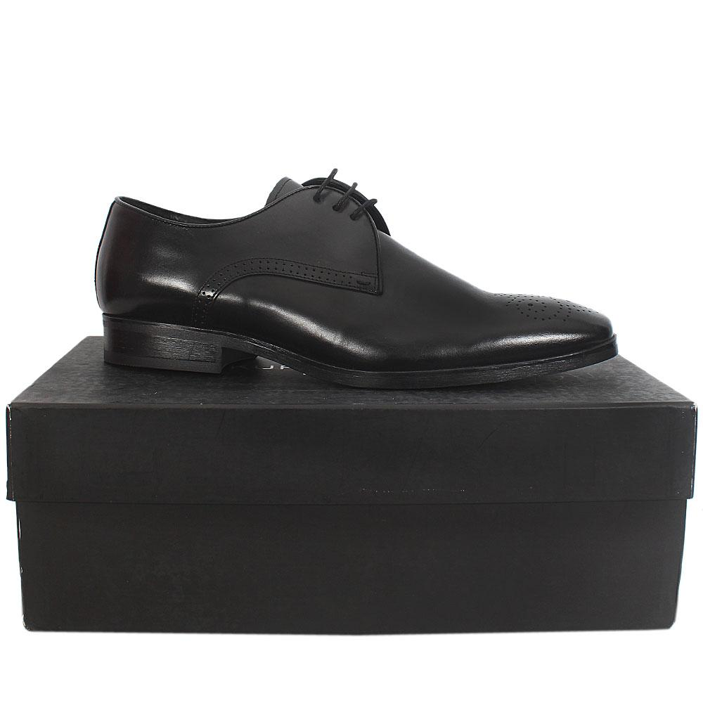 Sz 44 Kurt Geiger Black Premium Leather Shoe -