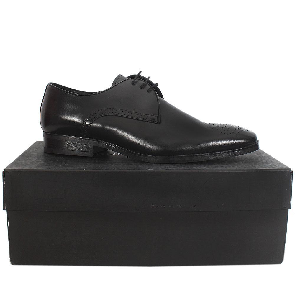 Kurt Geiger Black Premium Leather Shoe - Sz 44