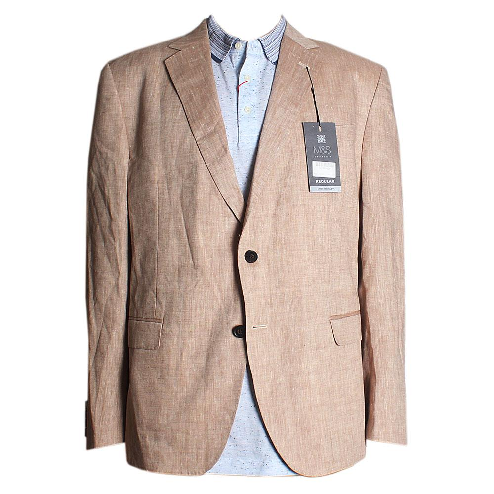 M  &  S Collection Neutral Regular Fit Men Jacket