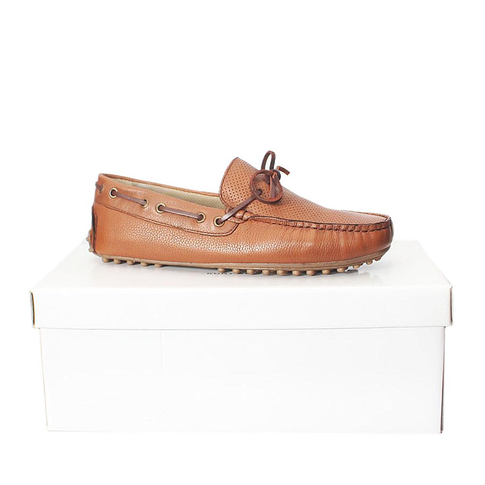 Brown Leather Men Loafers