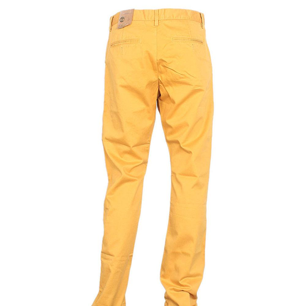 Timberland Yellowish Brown Men Chinos Trouser W 34, L 45 Inch