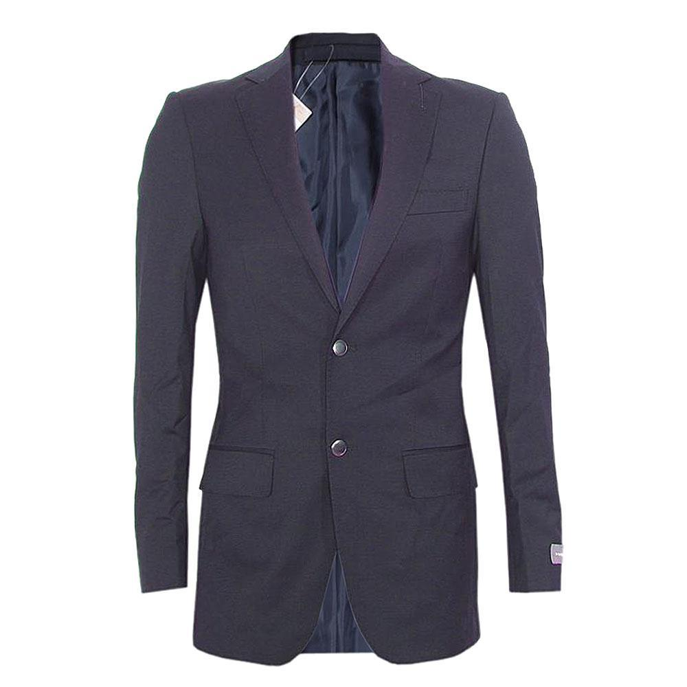 Navy Blue Fit Men Performance Blazer L 31 Inch 34