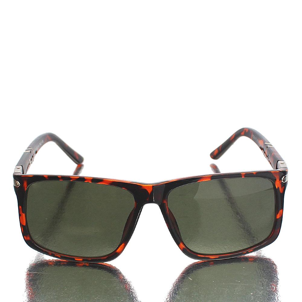 Brown Wayfarer UV Polarized Sunglasses
