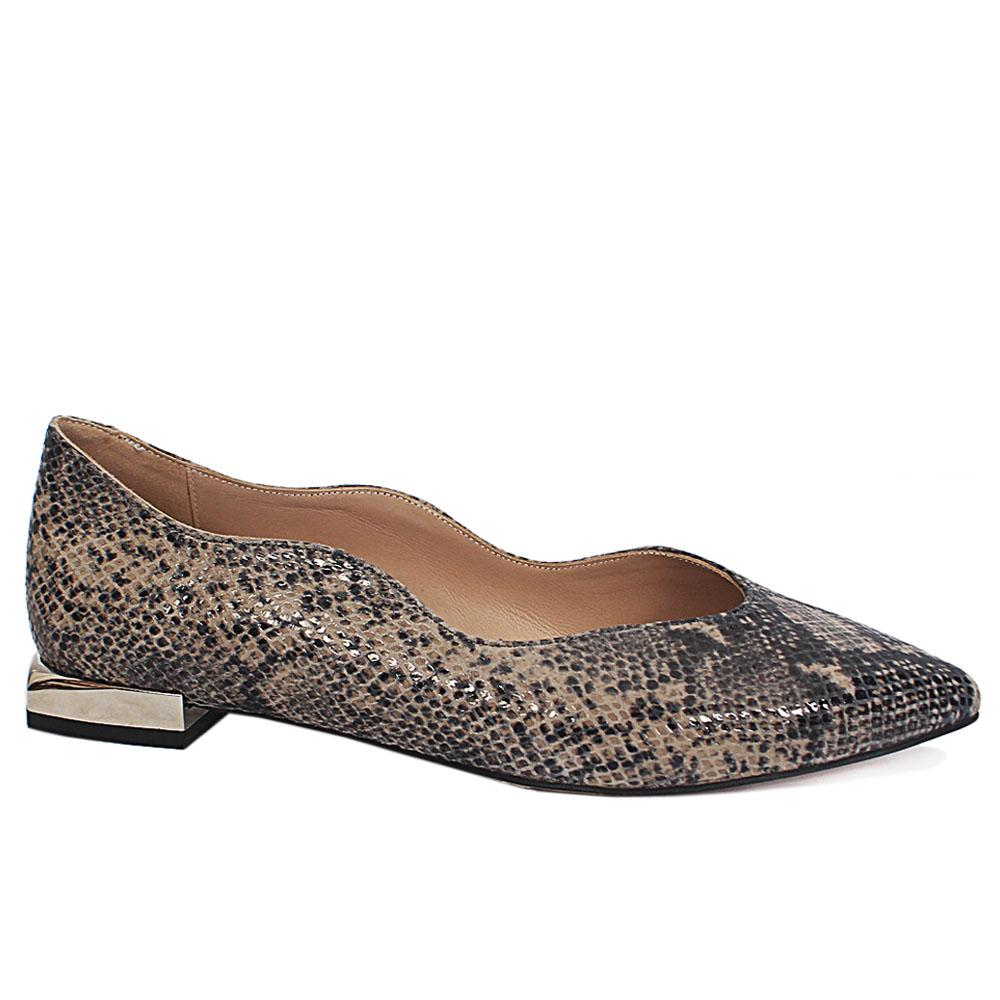 Animal Print Flat Shoes