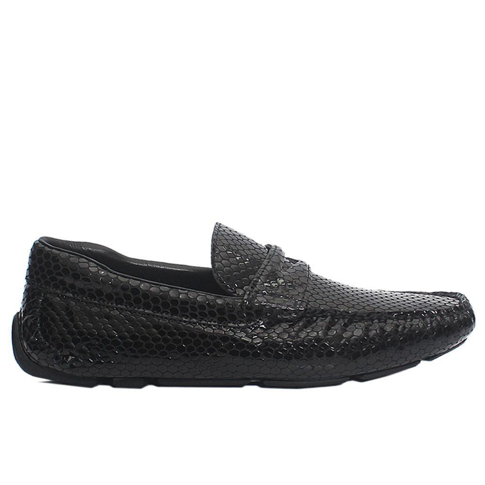 Black-alanya-croco-Italian-leather-drivers