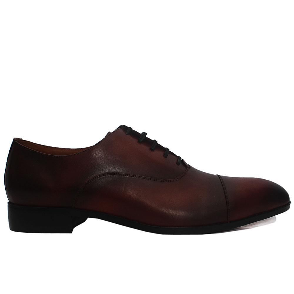 Brown Jack Leather Men Oxford Shoes