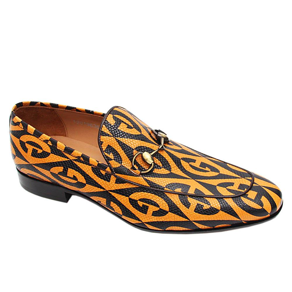 Mustard Yellow Leonardo Italian Leather Loafers