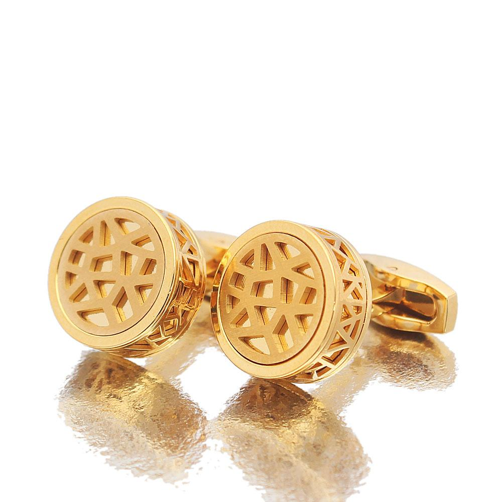 Mitch Gold Stainless Steel Cufflinks
