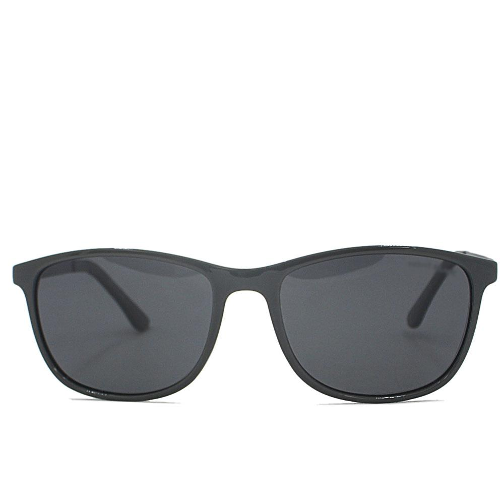 Gray Dark Lens Wayfarer Sunglasses