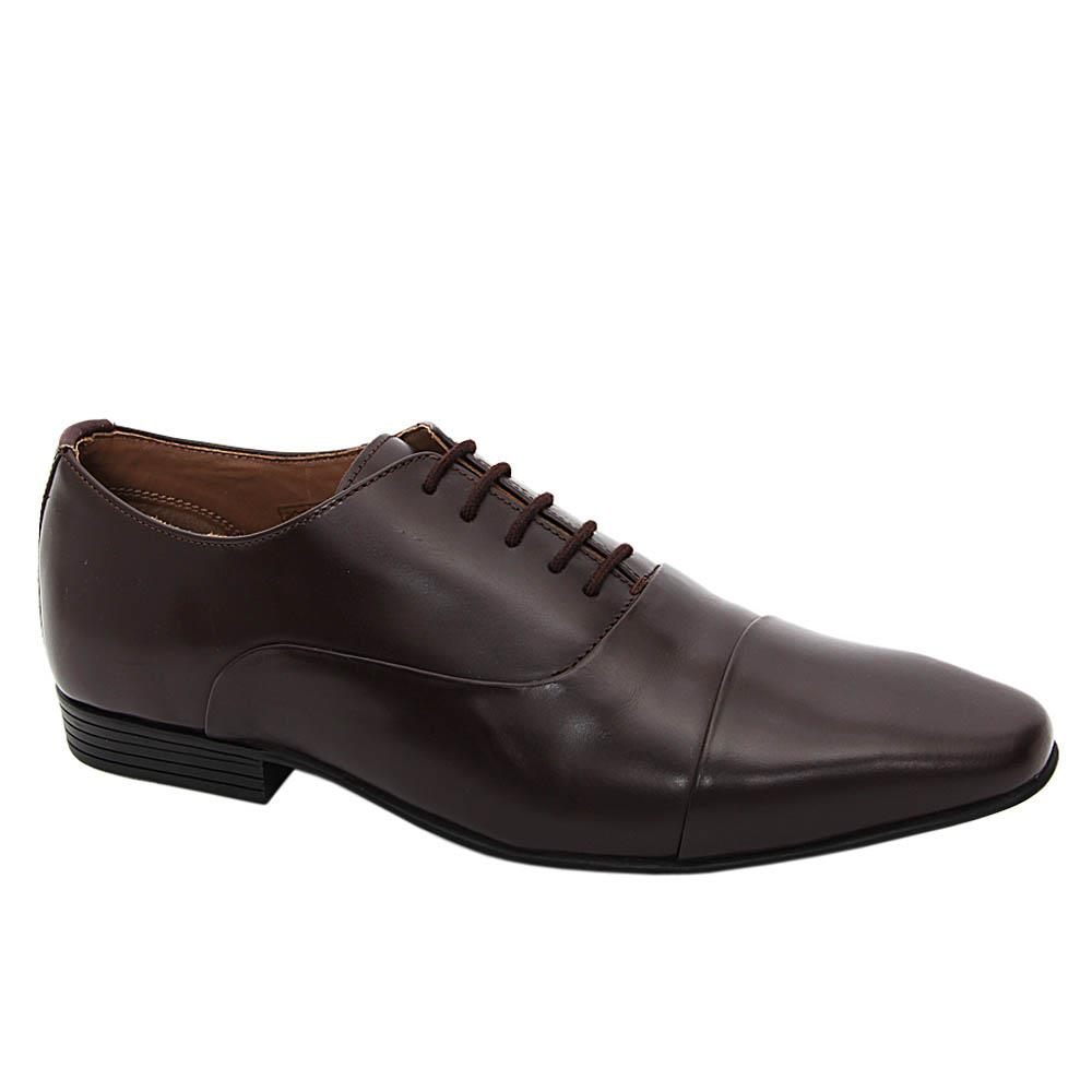 K Geiger Coffee Harry Leather Oxford Shoe