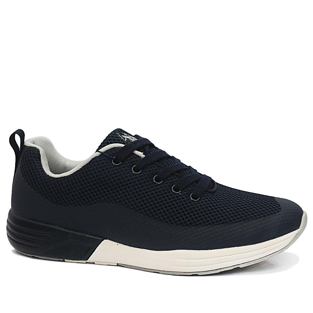 USSPA Navy Lucas Breathable Sneakers