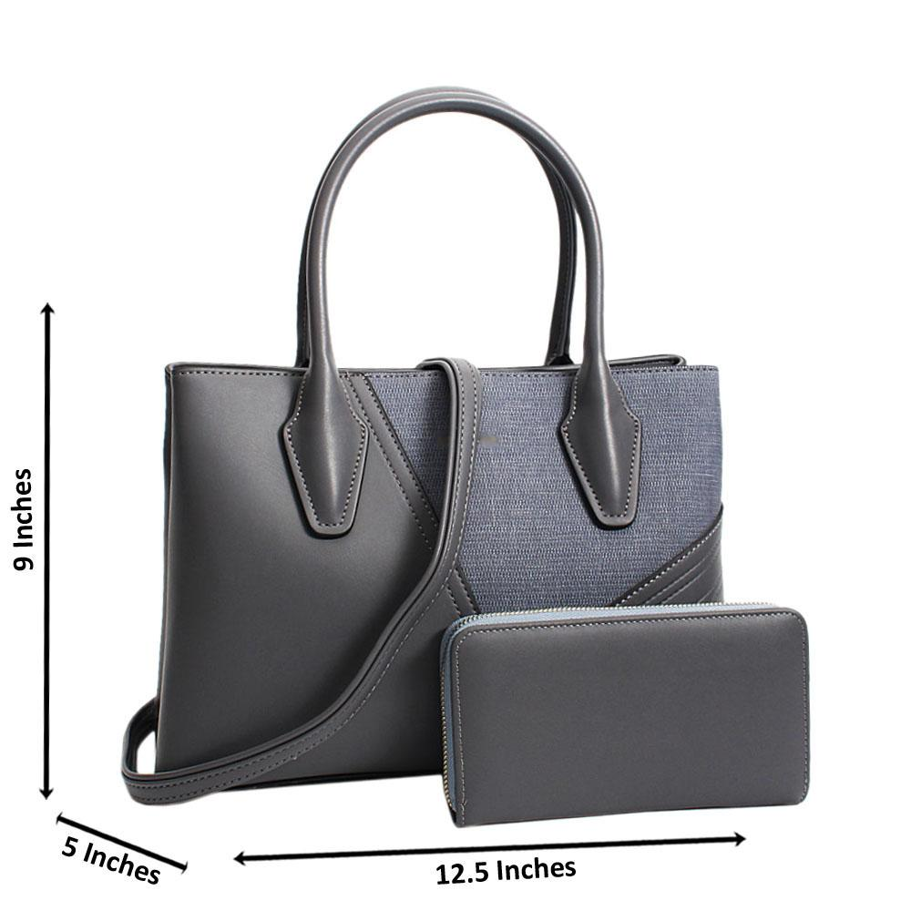 Gray-Camilla-Mix-Leather-Medium-Tote-Handbag