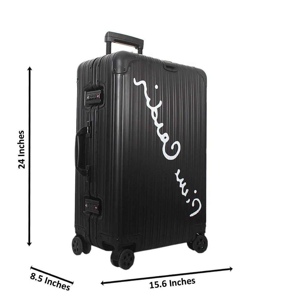 Black-24-Inch-HardShell-Medium-Luggage-Wt-TSA-Lock